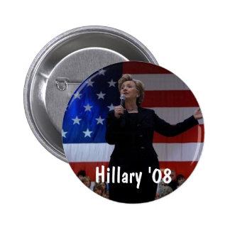 Hillary 08 pin