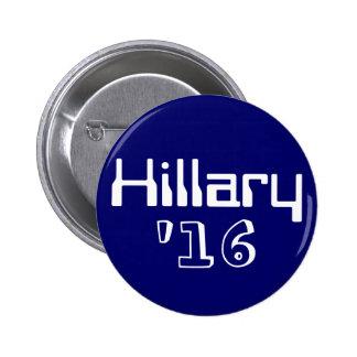 Hillary '16 2 inch round button