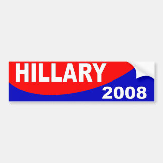 hillary 2008 bumper sticker