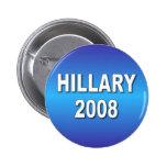 Hillary 2008 pin