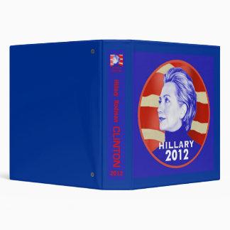 Hillary 2012 Avery Binder