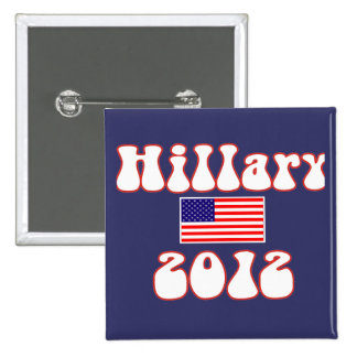 hillary 2012. button