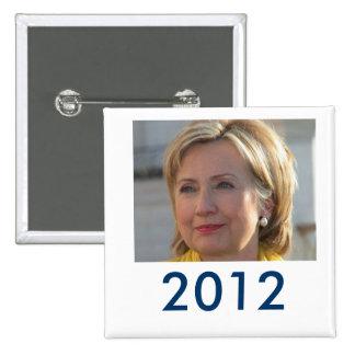 Hillary 2012 button