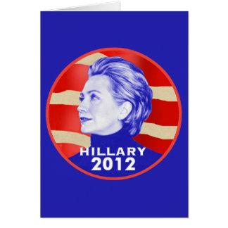 Hillary 2012 Card