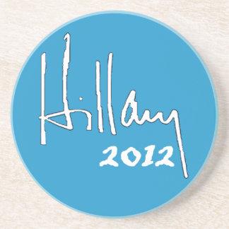 Hillary 2012 Coaster