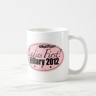 Hillary 2012 coffee mug