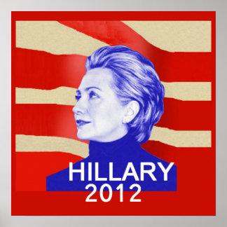 Hillary 2012 Large POSTER Print