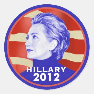 Hillary 2012 Sticker