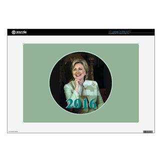 "Hillary 2016 15"" laptop decals"
