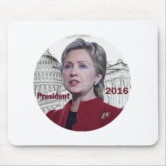 Hillary 2016 alfombrilla de raton