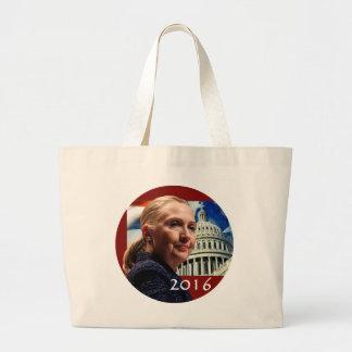 Hillary 2016 canvas bag