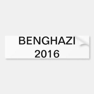 Hillary 2016 - BENGHAZI Bumper Sticker