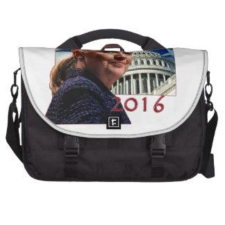 Hillary 2016 bolsa de ordenador