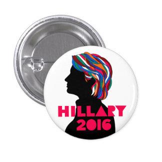 Hillary 2016: Botón retro del diseño Pins