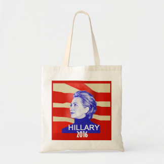 HILLARY 2016 BUDGET TOTE BAG