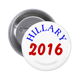 Hillary 2016 by Grassrootsdesigns4u 2 Inch Round Button