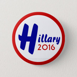 Hillary 2016 by GrassrootsDesigns4u Button