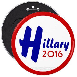 Hillary 2016 by GrassrootsDesigns4u Pinback Button
