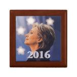 Hillary 2016 cajas de recuerdo