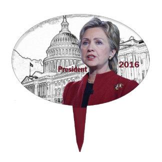 Hillary 2016 cake topper