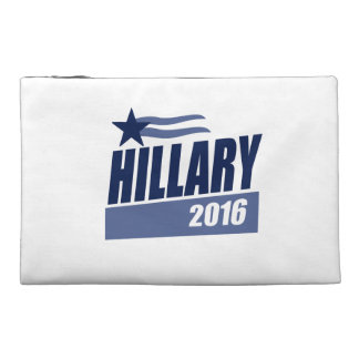 HILLARY 2016 CAMPAIGN BANNER TRAVEL ACCESSORIES BAG