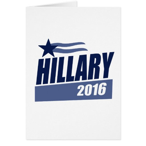 HILLARY 2016 CAMPAIGN BANNER.png Greeting Cards