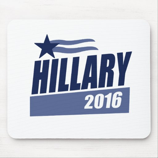 HILLARY 2016 CAMPAIGN BANNER.png Mouse Pad