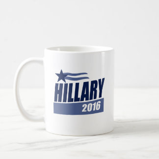 HILLARY 2016 CAMPAIGN BANNER.png Classic White Coffee Mug