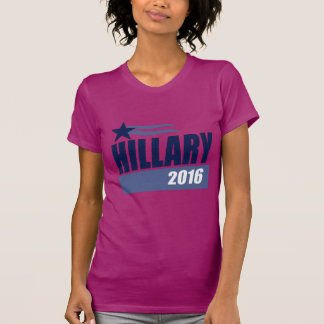 HILLARY 2016 CAMPAIGN BANNER T-SHIRTS