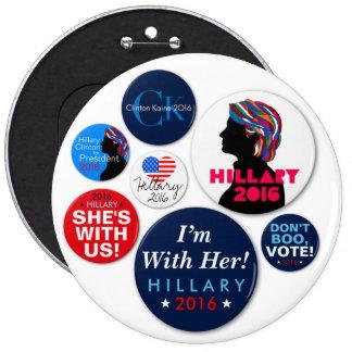Hillary 2016 Campaign Super Button