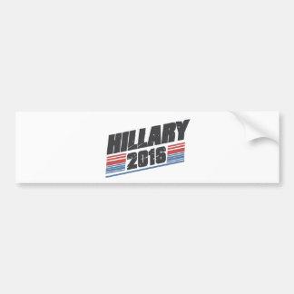 Hillary 2016 car bumper sticker