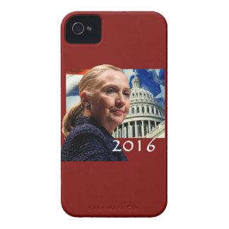 Hillary 2016 carcasa para iPhone 4 de Case-Mate