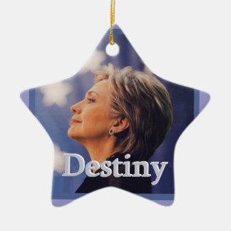 Hillary 2016 ceramic ornament