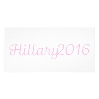 Hillary 2016 (Choose Your Own Color) Card