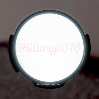Hillary 2016 (Choose Your Own Color) LED Car Decal