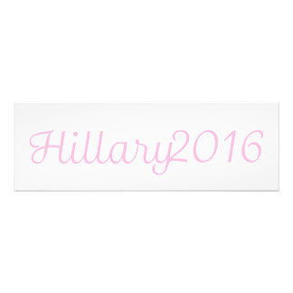 Hillary 2016 (Choose Your Own Color) Photo Print