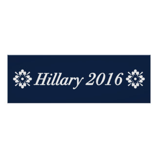 Hillary 2016 (Choose Your Own Color) Poster