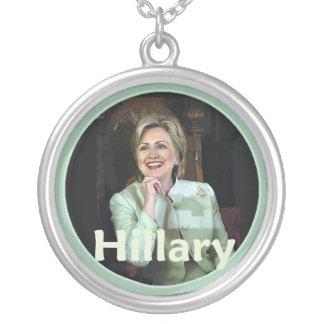 Hillary 2016 colgante redondo