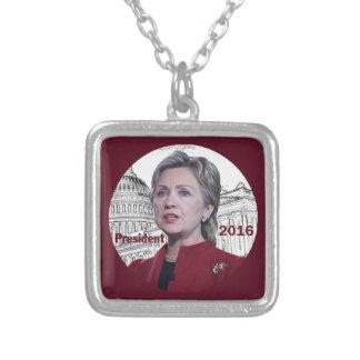 Hillary 2016 collar personalizado