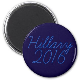 Hillary 2016 Cursive Magnet