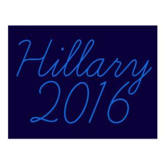 Hillary 2016 Cursive Postcard