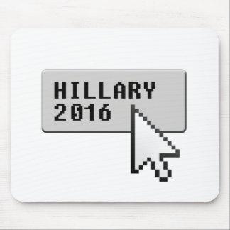 HILLARY 2016 CURSOR CLICK MOUSE PAD