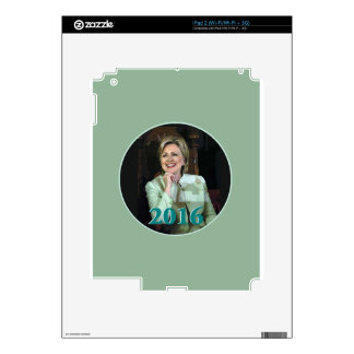 Hillary 2016 decal for the iPad 2