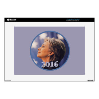 "Hillary 2016 decals for 15"" laptops"