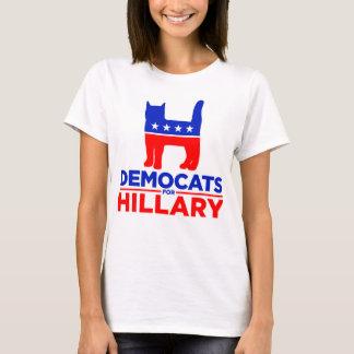 "Hillary 2016 ""Democats for Hillary"" Women T-shirt"