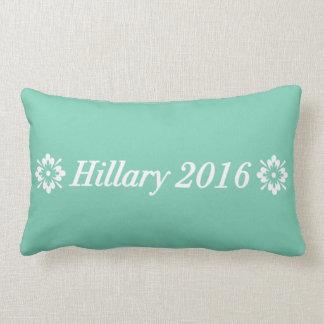 Hillary 2016 (elija su propio color) cojin
