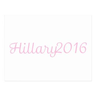 Hillary 2016 (elija su propio color) postal