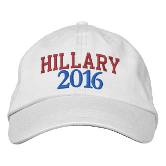 Hillary 2016 Embroidered Caps by HillaryClinton4u