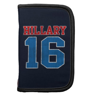 Hillary 2016 equipo universitario retro del Grung