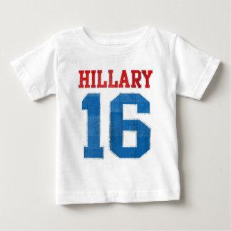 Hillary 2016, equipo universitario retro del polera